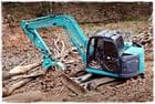 8 Tonne Excavator with Grab attachment