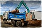10 metre tipper with 12 tonne excavator
