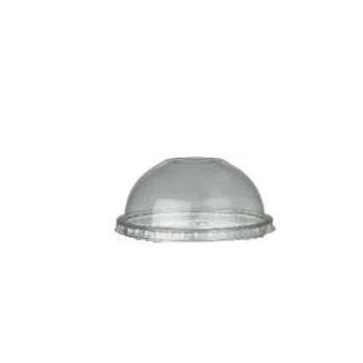 clear pet drink cup dome lid 16 to 24 oz