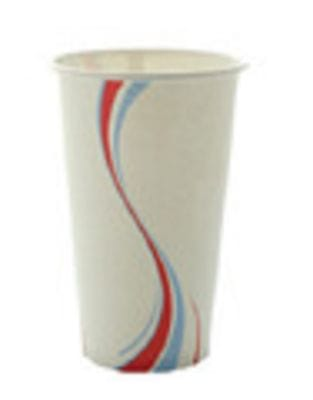 22 oz cold drink cup paper