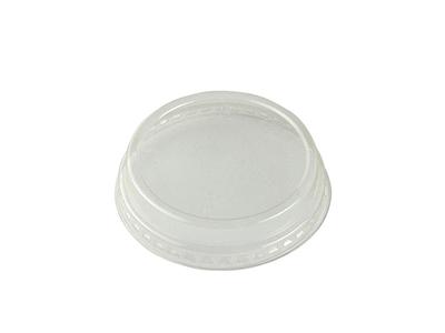 76mm PLA flat lid, no-hole (fits slim cups)