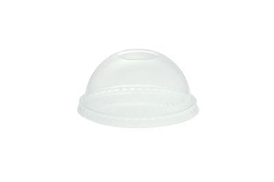 96mm PLA dome lid, no hole (fits standard cup)