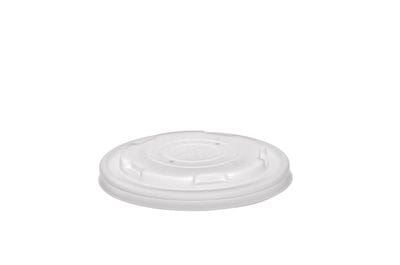 90mm flat bio lids (fits containers 6 - 8oz)