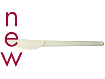 6.5in RCPLA compostable knife