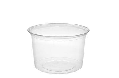 16oz PLA round deli container