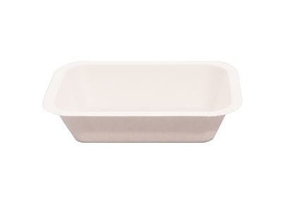 500ml rectangular bagasse container