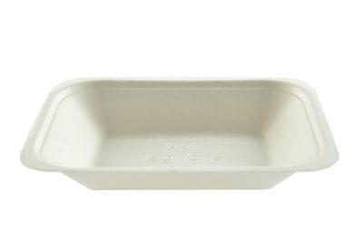 Medium bagasse chip tray
