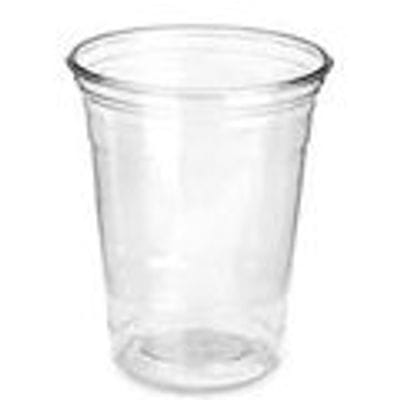 CLEAR PET COLD DRINK CUP 340ML 12 OZ