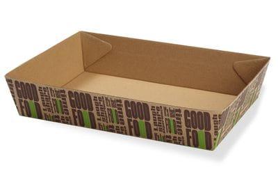 Recycled Kraft Snack Tray 5
