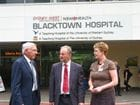 MP for Riverstone, Kevin Conolly visits Blacktown Hospital to discuss their needs