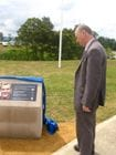 Kevin Conolly attends the opening of the Luke Worsley Bridge