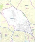 The Electoral District of Riverstone. State of New South Wales.  Redistribution Boundaries effective March 2015.
