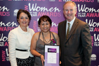 Kevin with The Hon Pru Goward MP, Minister for Women and Josefina Musa the 2015 Riverstone Woman of the Year