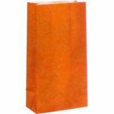 12 Paper Bags Orange