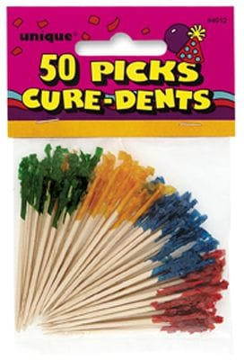 50 Frilled Picks