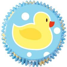 75 Piece Ducky Baking Cups