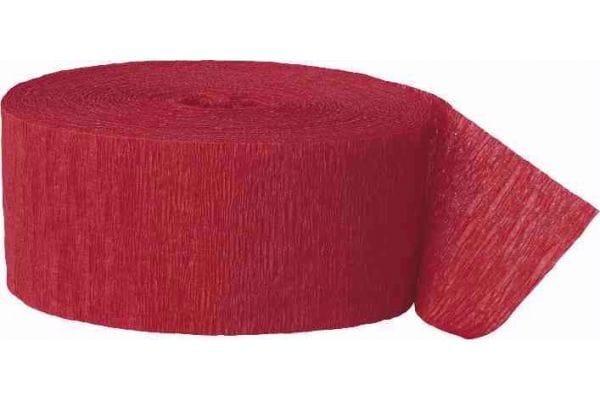 81ft Streamer Red