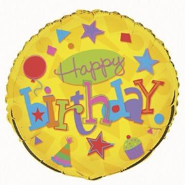 "Birthday Fun 18"" Foil Balloon"