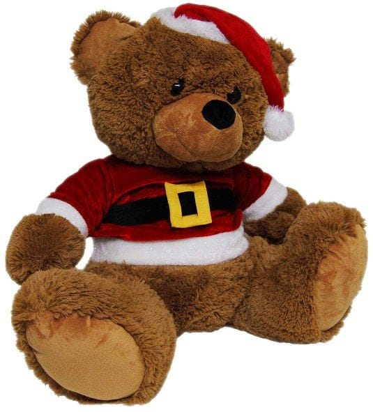 Jelly Bear With Christmas Suit