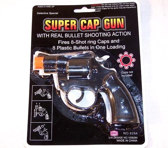 Cap Gun Black