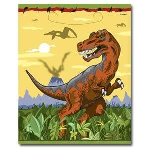 Dino Times Loot Bags 8 Pack