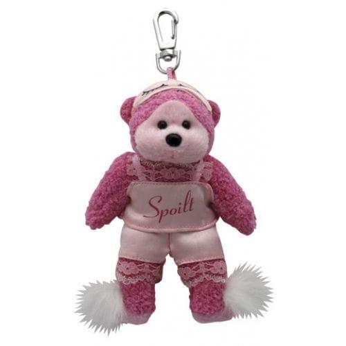 Precious the Spoilt Bear Bag Tag