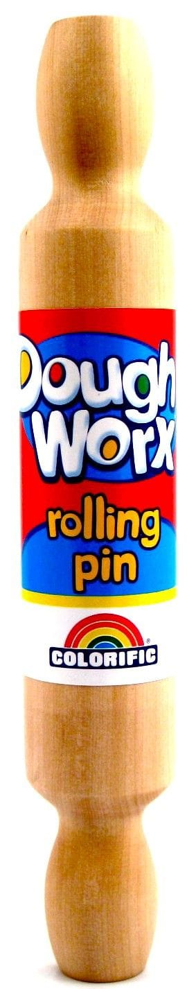 Dough Worx Wooden Rolling Pin