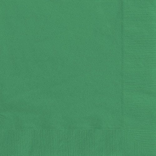 Emerald Green 20 Luncheon Napkins