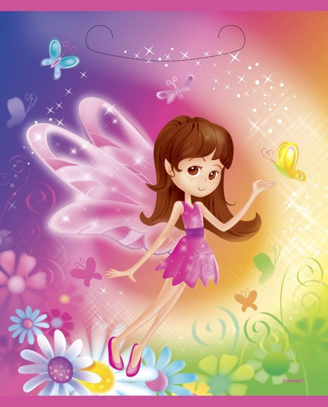 Fairy Whimsy Loot Bag 8 Pack