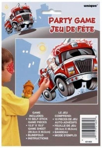Fire Engine Party Game