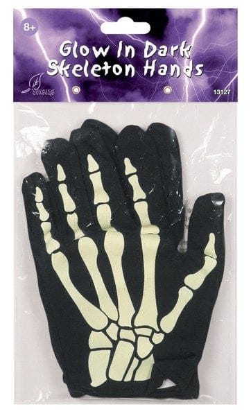Glow in the Dark Skeleton Hands