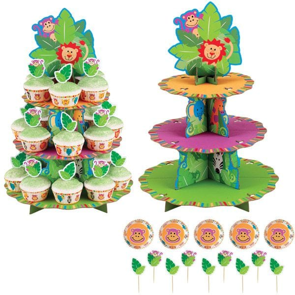 Jungle Pals  Cup Cake Strand KIt