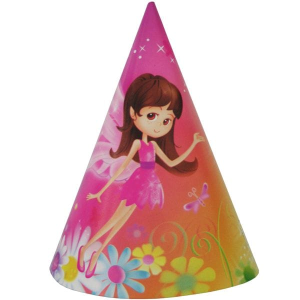 Fairy Whimsy Party Hats 8 Pack