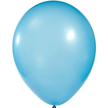 Latex Balloon Baby Blue