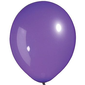 Latex Balloon Purple