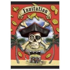 Pirate Bounty Invitations