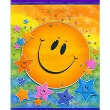 Smiley Star Loot Bags 8pk