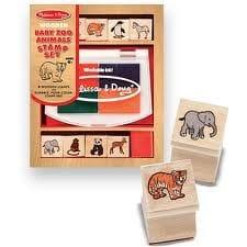 M&D - Baby Zoo Animals Stamp Set