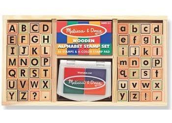 M&D - Alphabet Stamp Set
