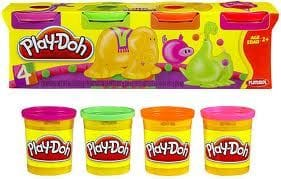Playdoh Classic 4 Tub Pack