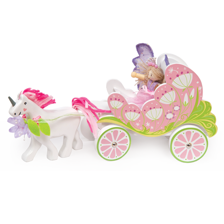 Le Toy Van - Carriage & Unicorn with Fairy