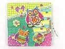 Owl Design Diary with Lock