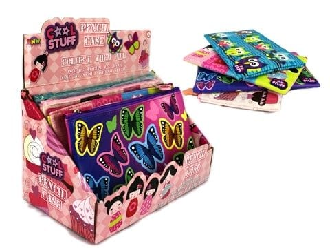Assorted Pencil Cases - Girls