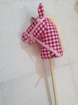 Hobby Horse -  with sound -CHERRY RIPE