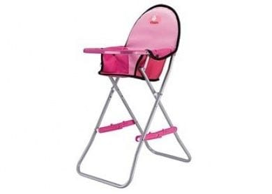 CHICA - Folding High Chair - Pink