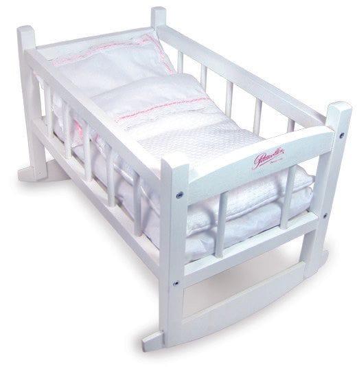 Petitcollin - White Doll Cradle