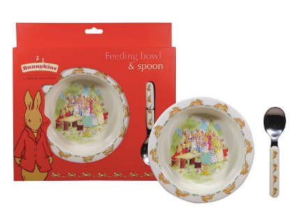 Bunnykins Feeding Bowl and Spoon Set