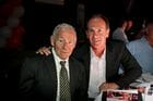 Tommy Hafey and Terry Wallace enjoying the Breakfast