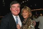 Dicky with Melbourne Socialite Lillian Frank