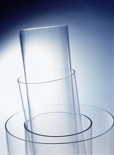 15mm x 2mm x 1M long Acrylic Clear Tube.PMMA Supply